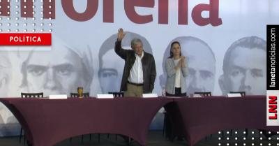 AMLO asiste a Congreso Nacional de Morena