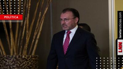 Videgaray expresa su pesar por el fallecimiento de Kofi Annan