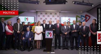 <i>¿Cambio de rumbo?</i>: PRI elegirá nuevo dirigente nacional el martes