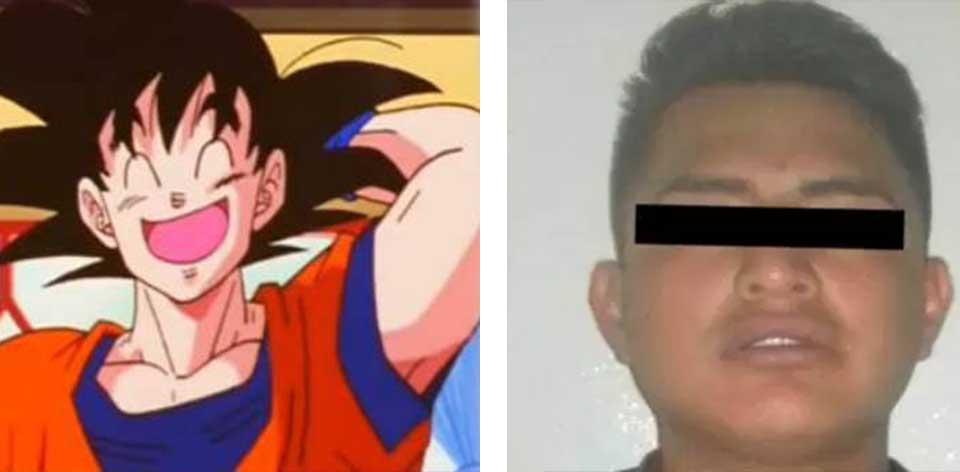 <i>¡Kakaroto!</i>: arrestan a <i>Gokú</i> por robo calificado