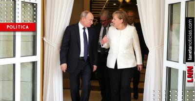 Rusia vuelve a entrar a Berlín: Merkel recibirá a Putin este sábado