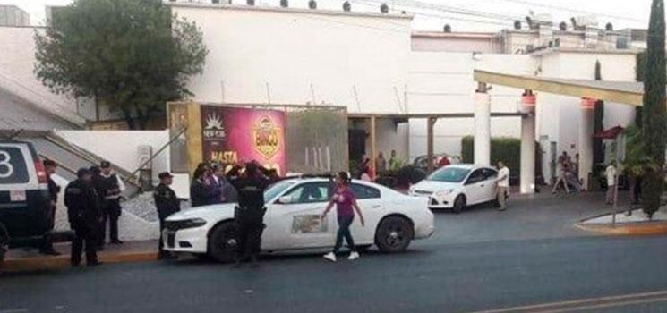 Amenaza de bomba en casinos causa pánico en Monterrey