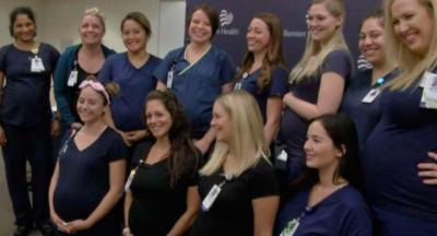 <i>Baby boom</i>: este hospital está lleno de enfermeras ¡embarazadas!