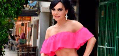 Maribel Guardia desata lujuria con ajustado vestido rojo (VIDEO)