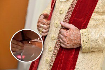 <i>El cuerpo de Cristo</i>: exhiben a sacerdote inhalando droga en una fiesta