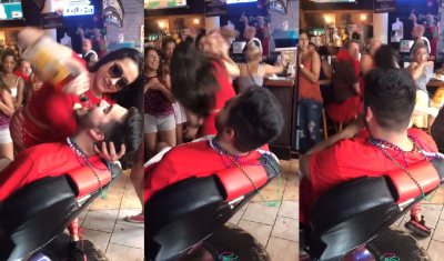 <i>De las greñas</i>: nalgada desata 'épica pelea' entre meseras (VIDEO)