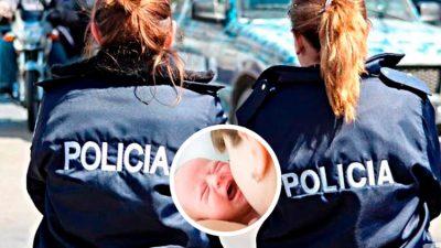 Policía se hace viral por amamantar a bebé separado de sus padres (FOTO)