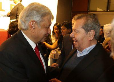Muñoz Ledo busca retirarse de la política como presidente del Senado