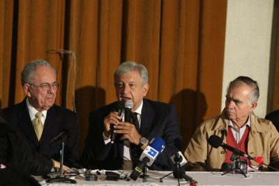 Gobierno del pueblo: presentan 184 propuestas para la administración de AMLO