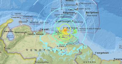 Filtran primeras imágenes de sismo que sacudió a Venezuela (VIDEO)