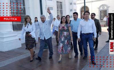 'El poder es humildad, no fantochería', dice AMLO en Guaymas