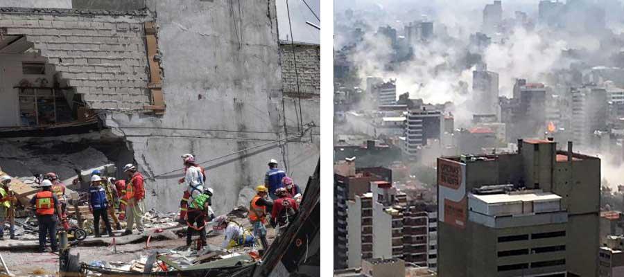 Sonido de la muerte: exponen impactante audio del sismo del 19S
