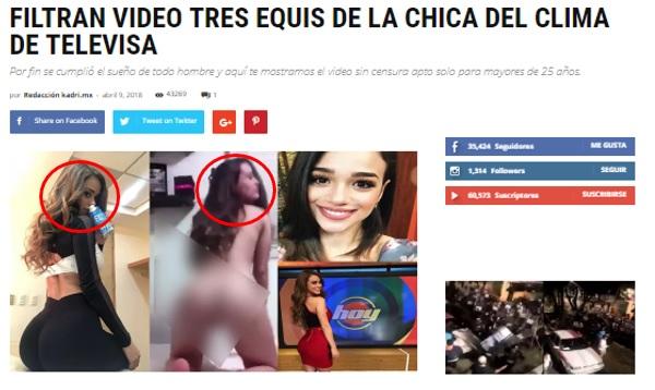El Día Que Filtraron Video íntimo De Yanet García Y Ana Ceci