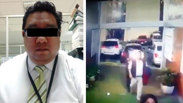 Difunden video del asesinato por la espalda de secretario de la PGJ en GAM