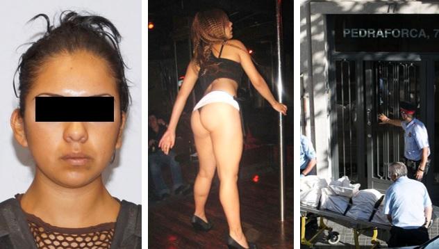 Nicole, la bailarina que asesinó a su pareja con ayuda de su amante