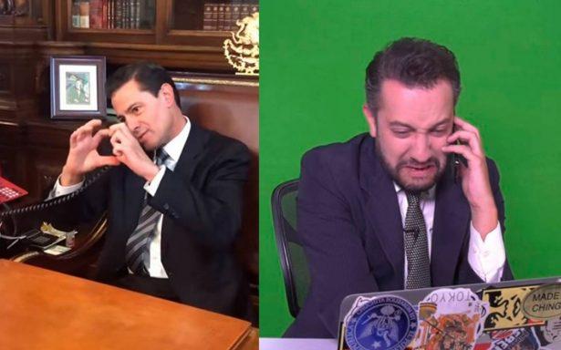 Peña Nieto <i>colapsa</i> redes con romántico corazón para Chumel Torres (FOTO)