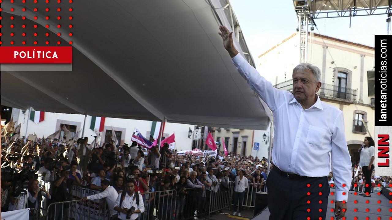 AMLO inicia evento en Plaza de las Tres Culturas