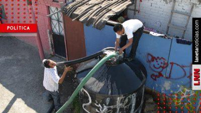 Anuncian recortes de agua en al menos 13 delegaciones de CDMX