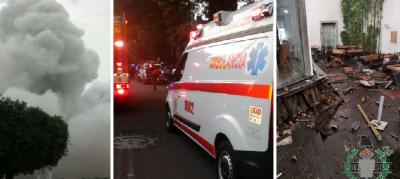 Drama en Coyoacán: Reportan varios heridos tras grave explosión  (FOTOS)