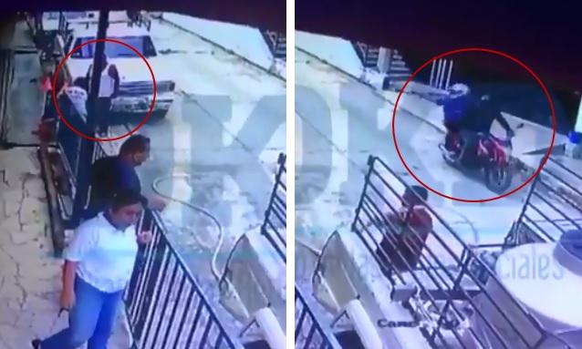 Captan momento en que sicarios asesinan a periodista de El Heraldo (VIDEO)