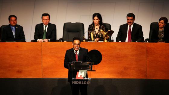 Fayad desconoce a Morena en el Congreso de Hidalgo con publicación ilegal