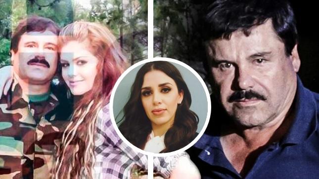 Exhiben supuesta infidelidad de El Chapo a Emma Coronel con joven amante