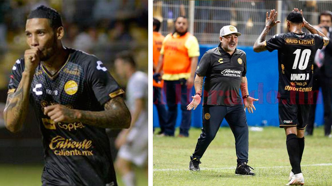 Filtran impactante regalo de Maradona a goleador de Dorados tras victoria (FOTO)