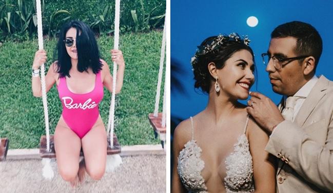 Itzel, los mejores bikinis de la sensual esposa de El Capi Pérez (FOTOS)