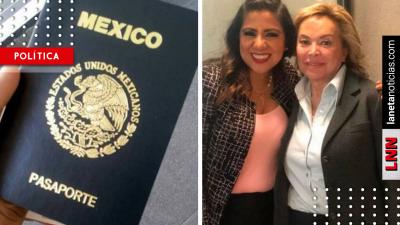 <i>¿Ya se va?</i> Elba Esther Gordillo olvida cárcel y tramita en <i>segundos</i> pasaporte