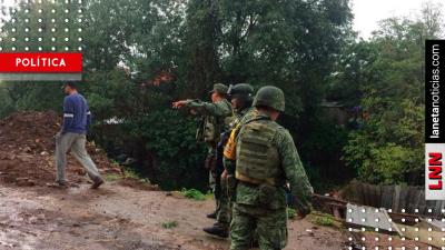 <i>Siguen los desastres:</i> desbordamiento de río en Michoacán deja cinco muertos