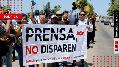 ONU urge a México proteger a periodistas: 'van 9 muertos en el año'