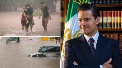 Cancela por segunda vez EPN visita a zonas afectadas en Sinaloa por inundaciones