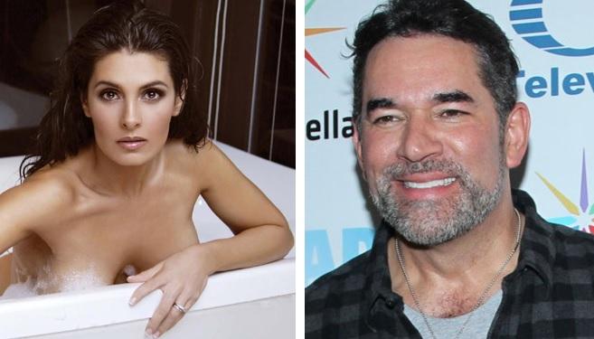 Eduardo Santamarina balconea a Mayrín Villanueva con secreto sexual