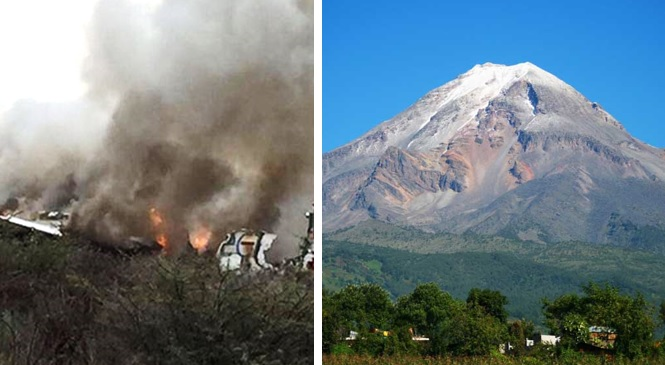Se desploma avioneta en Pico de Orizaba; reportan 2 muertos