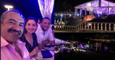 <i>¡Qué pez!</i>: mientras damnificados sufren, diputados se dan festín en Mazatlán