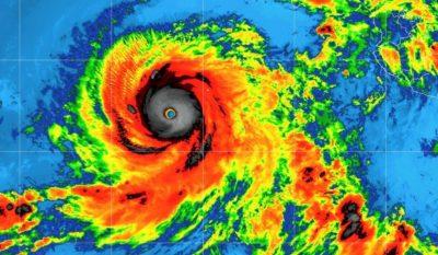 Alarma en Baja California: Rosa evoluciona a huracán categoría cuatro