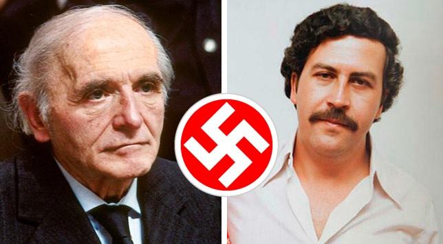 Klaus Barbie, el carnicero nazi que ayudó a Pablo Escobar a formar su imperio