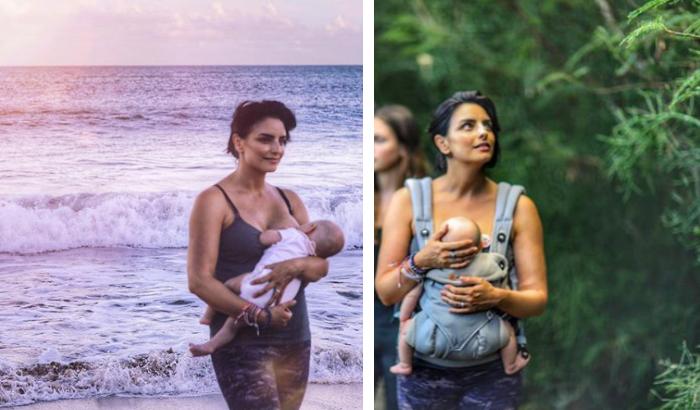 Aislinn Derbez responde a críticas sobre el video de su bebé