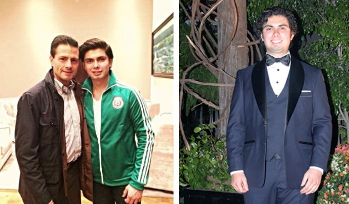 Exponen drástico aumento de peso de Alejandro Peña durante el sexenio de papá