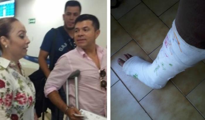 Jorge Medina termina en el hospital tras sufrir grave accidente en Sinaloa