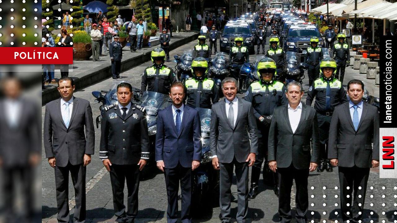 Tony Gali continúa equipando a las fuerzas policiales de Puebla