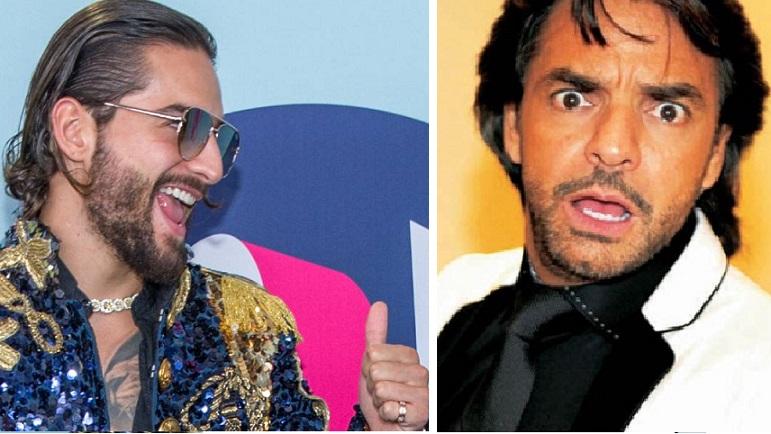 <i>¿Gen Derbez?</i> Maluma cambia de look y es 'idéntico' a Vadhir