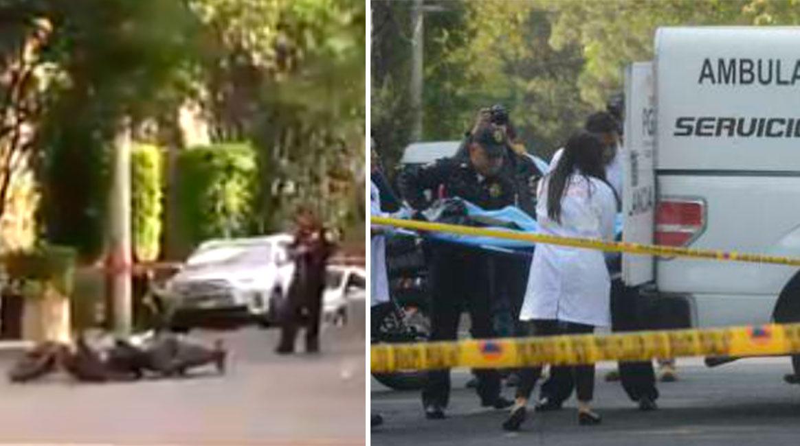Intento de asalto termina en tragedia tras balacera en Lomas de Chapultepec