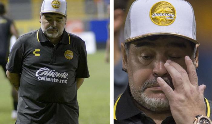 Maradona explota ante derrota de Dorados y saca lo peor de él (VIDEO)