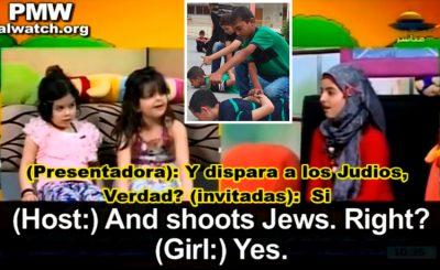 Revelan siniestro video que muestra a niños aprendiendo a 'matar judíos'