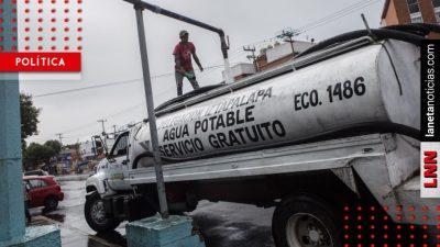 Por megacorte de agua, empresas ofrecen pipas ¡hasta en 2 mil pesos!. Noticias en tiempo real