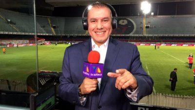 ¡Otro! Paco González se despide de TV Azteca en plena transmisión