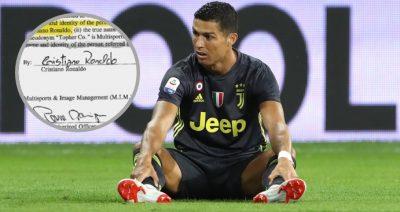 Filtran pruebas que hundirían a Cristiano Ronaldo en caso de violación (FOTO)