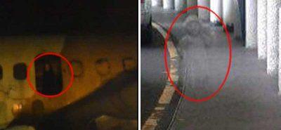Captan aterrador fantasma dentro del aeropuerto de la CDMX (FOTOS)
