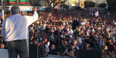 AMLO en Toluca: 'Con el pueblo, todo; sin el pueblo, nada'